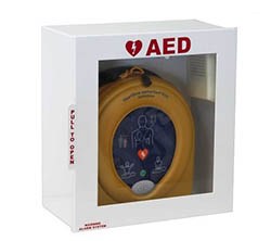 AED Cab Heartsine_Wall Mount Alarmed